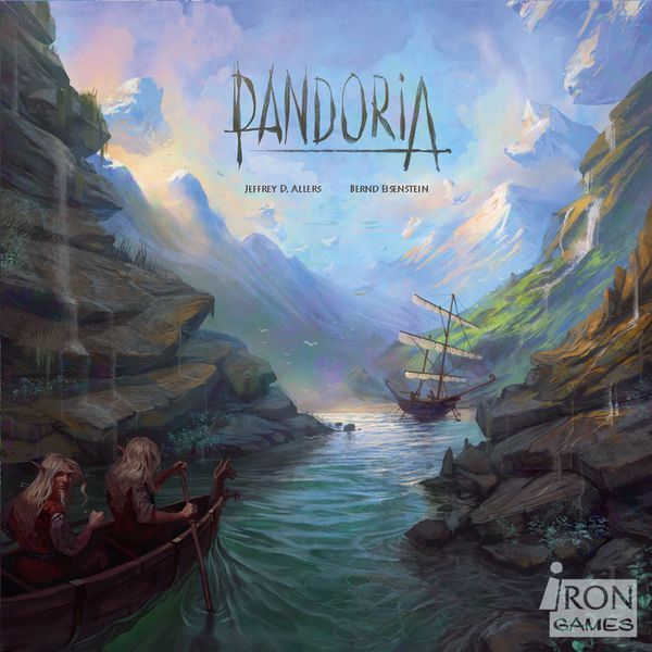 Pandoria board game cover
