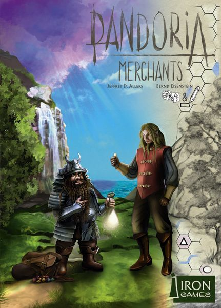 Pandoria Merchants board game cover