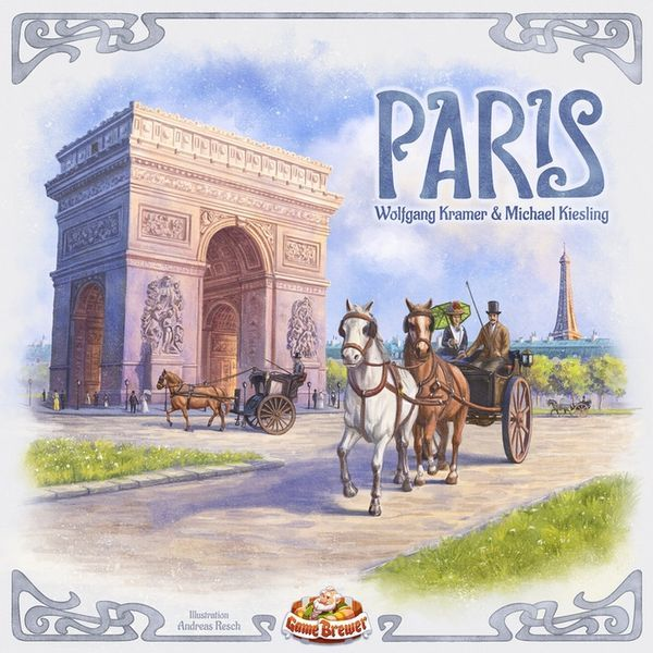 Paris board game cover