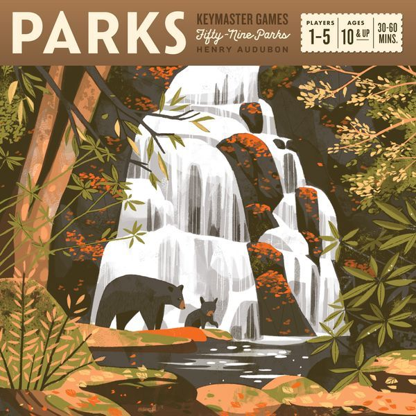 Parks Board Game cover