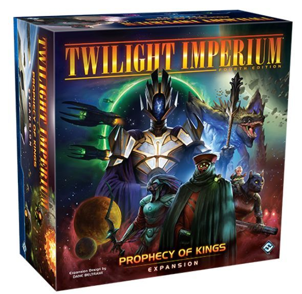 Twilight Imperium Prophecy of Kings expansion box
