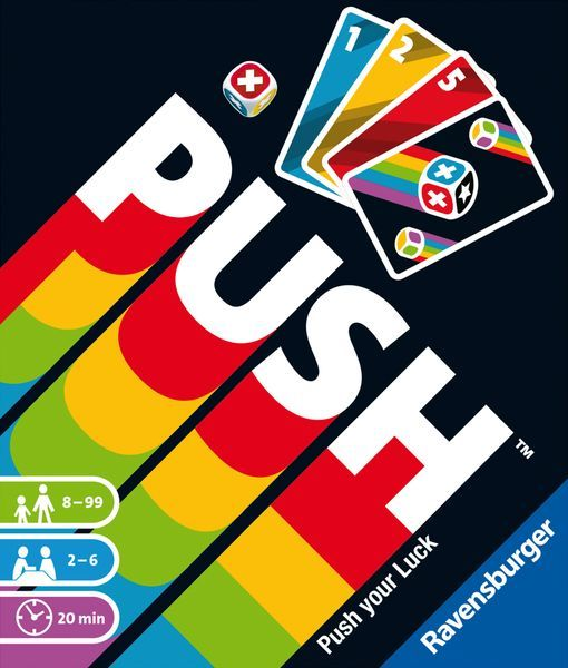 Push card game