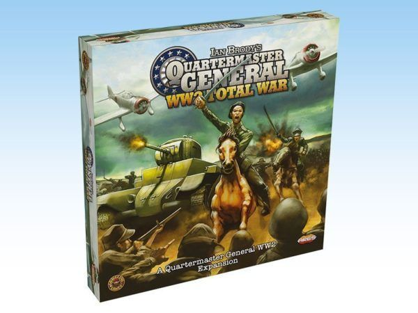 Quartermaster General WW2 Total War cover
