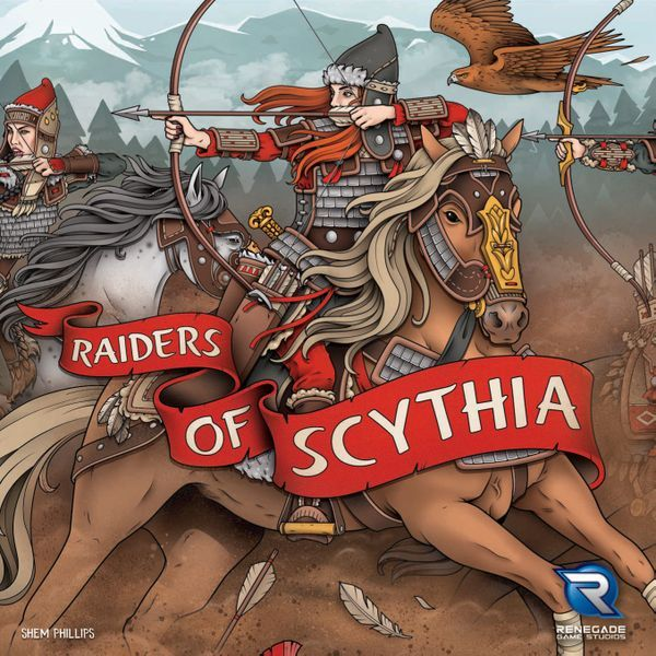 Raiders of Scythia board game cover