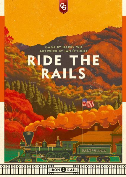 Ride the Rails board game cover