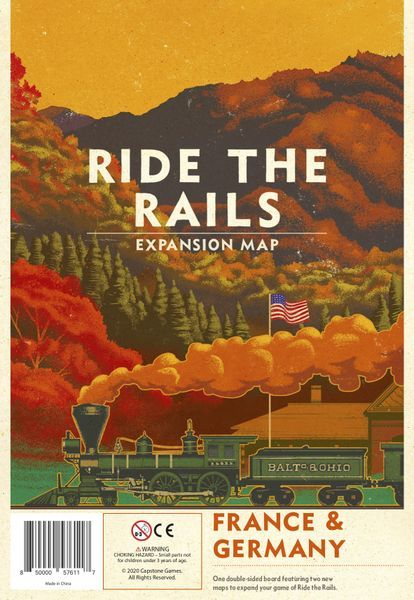 Ride the Rails: France and Germany cover