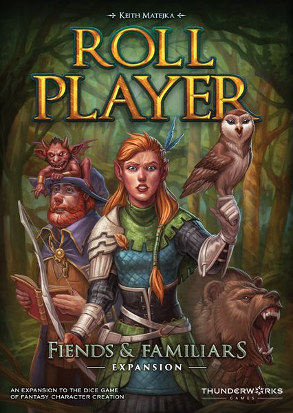 Roll Player Fiends and Familiars expansion