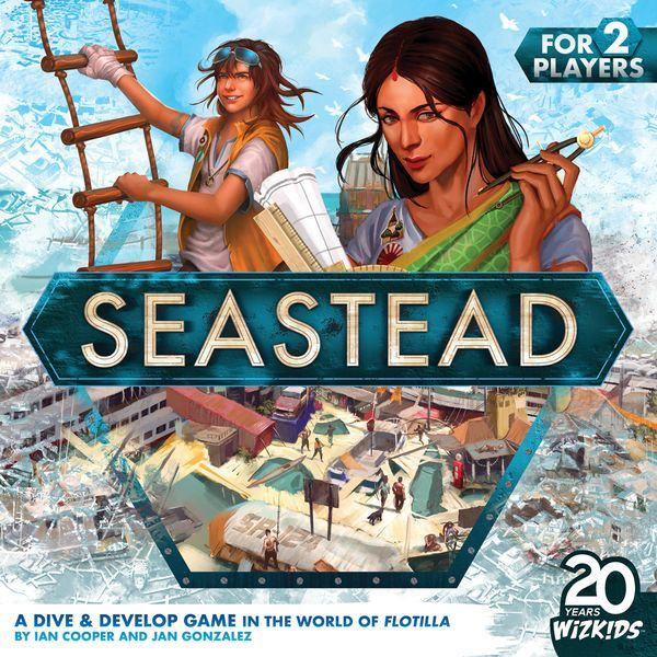 Seastead board game cover