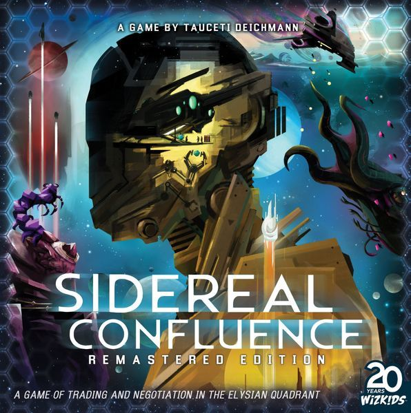 Sidereal Confluence Board Game cover
