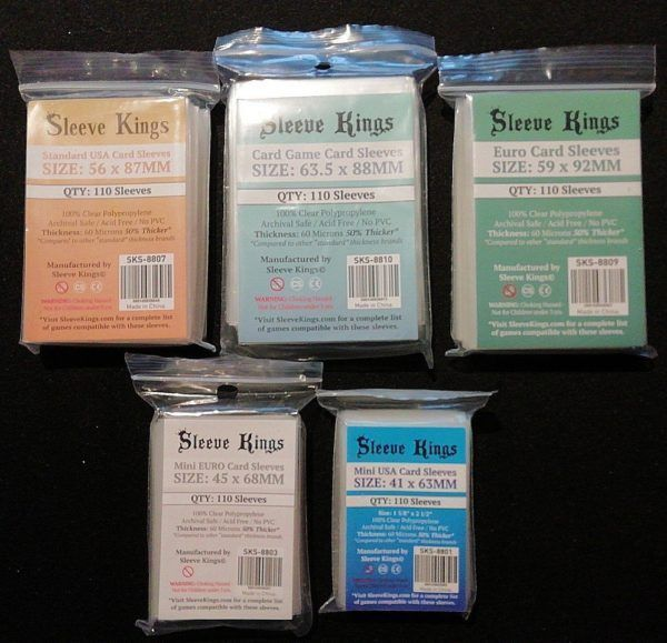 Sleeve Kings card sleeves