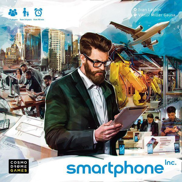 Smartphone Inc board game cover