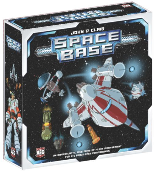 Space Base Board Game cover