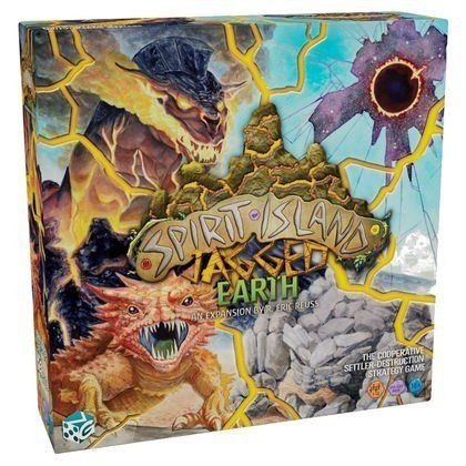 Spirit Island: Jagged Earth expansion cover