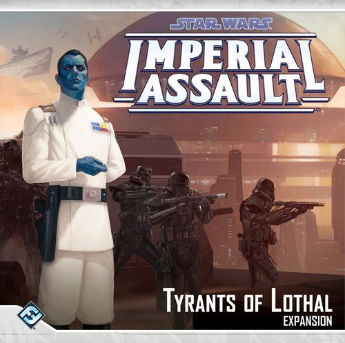 Star Wars Imperial Assault Tyrants of Lothal cover