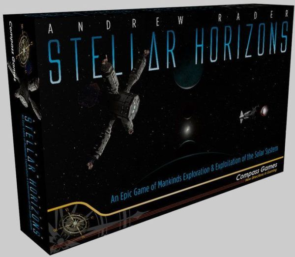 Stellar Horizons board game cover