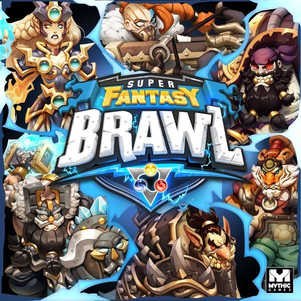 Super Fantasy Brawl Board Game cover