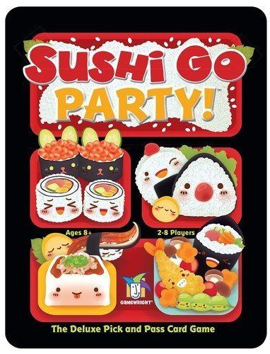 Sushi Go Party card game cover