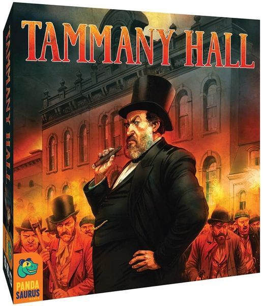 Tammany Hall Board Game cover