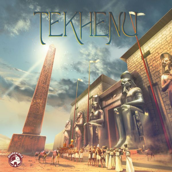 Tekhenu board game cover
