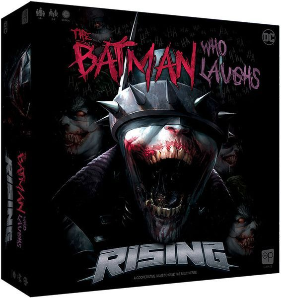 The Batman Who Laughs Rising cover