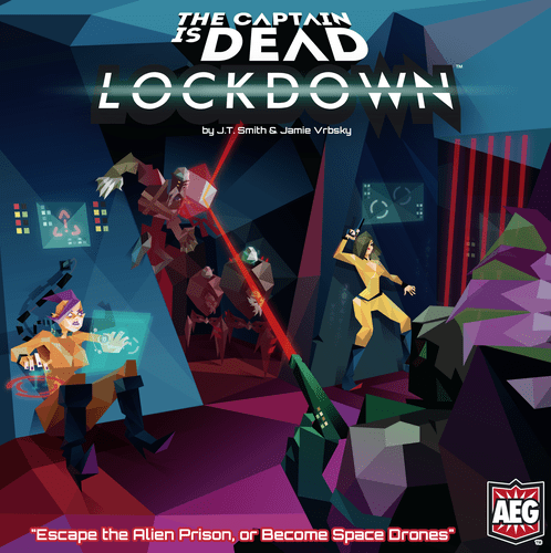 The Captain is Dead Lockdown cover