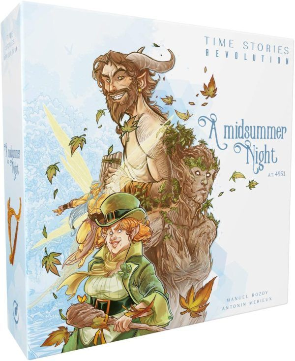 TIME Stories Revolution A Midsummer Night cover