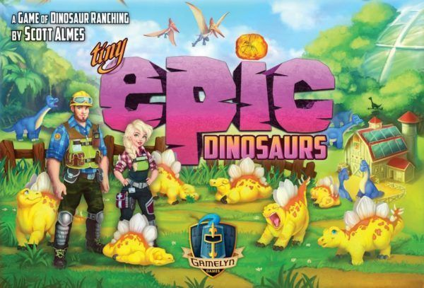 Tiny Epic Dinosaurs Board Game cover