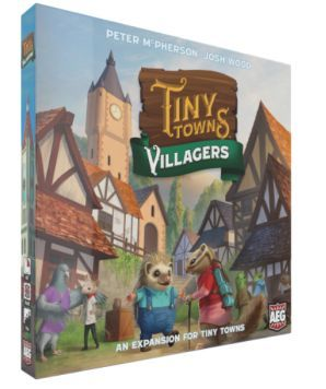 Tiny Towns Villagers cover