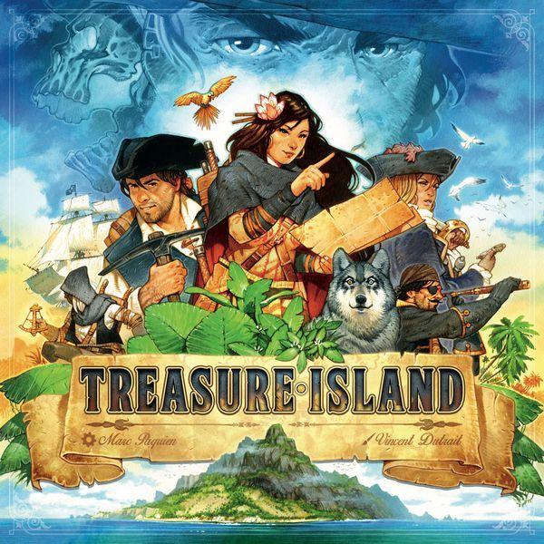 Treasure Island board game cover