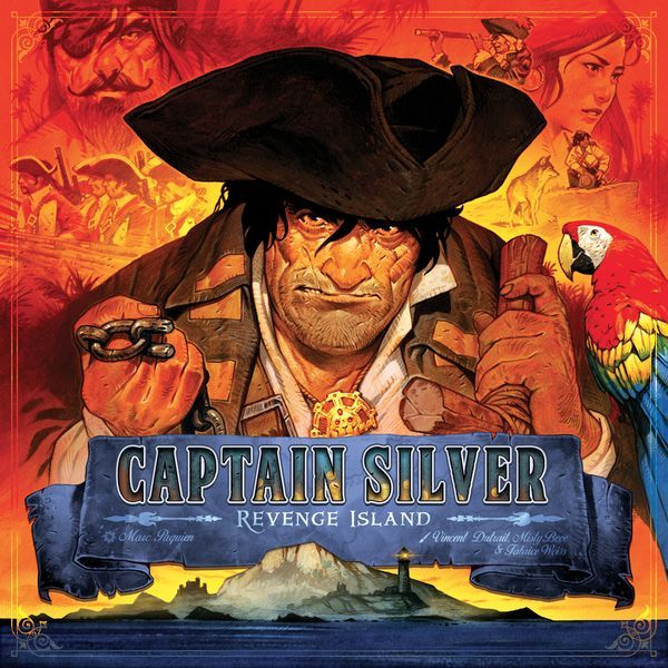 Treasure Island Captain Silver Revenge Island cover
