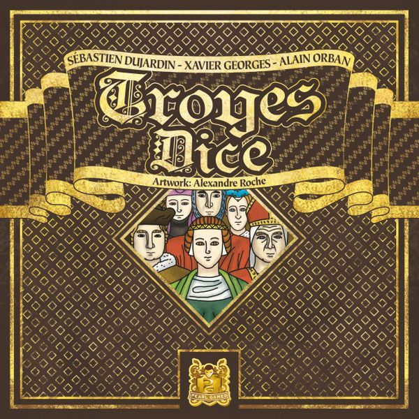 Troyes Dice Board Game Cover