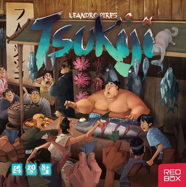 Tsukiji Board Game cover