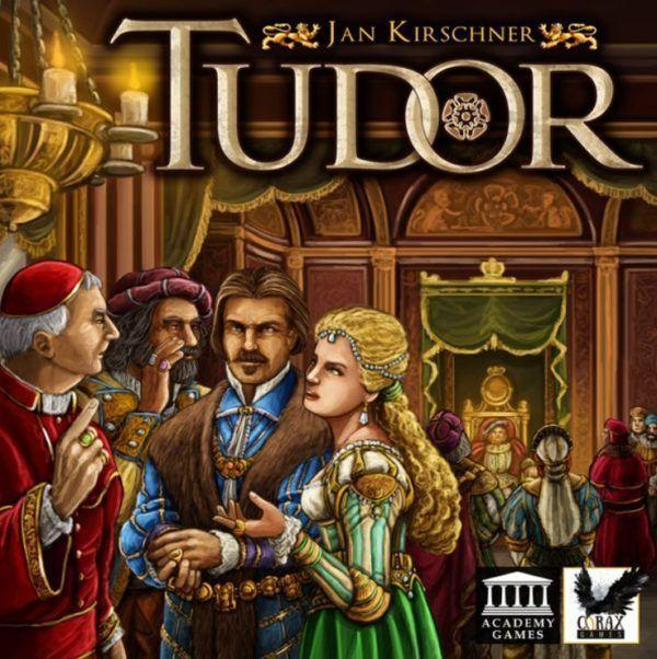 Tudor board game cover