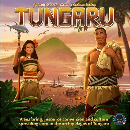 Tungaru Board Game cover