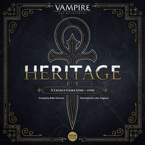 Vampire The Masquerade – Heritage cover