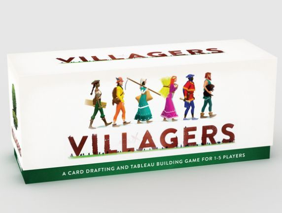 Villagers Card Game box