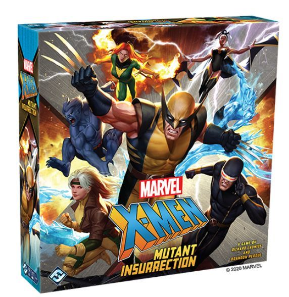 X-Men Mutant Insurrection Board Game cover