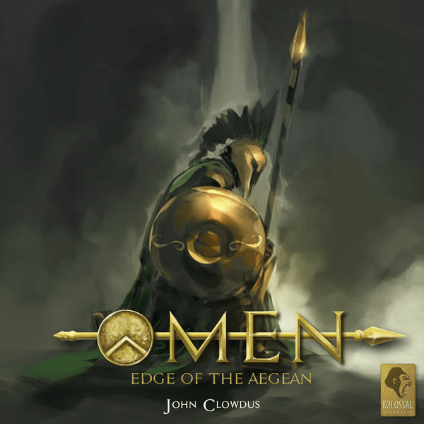 Omen Edge of the Aegean card game cover