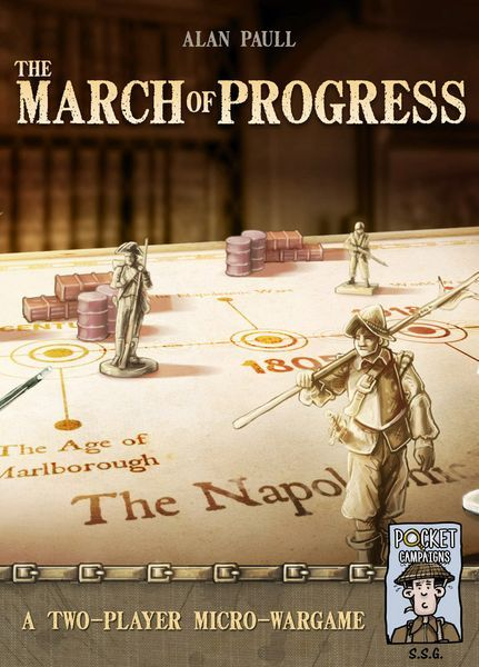 The March of Progress board game cover