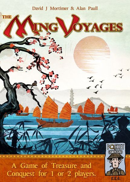 The Ming Voyages board game