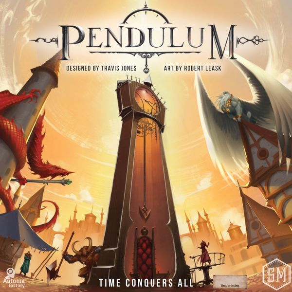 Pendulum board game cover