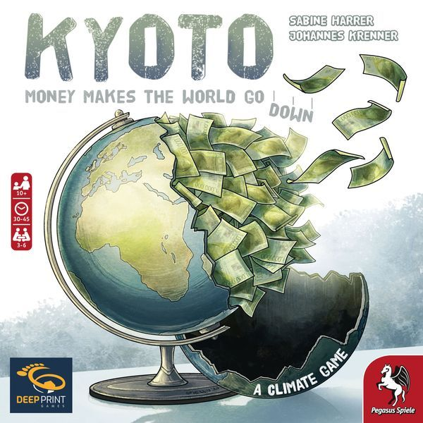 Kyoto board game cover - Deep Print Games