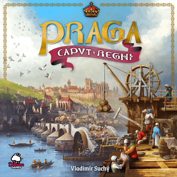 Praga Caput Regni Board Game Cover