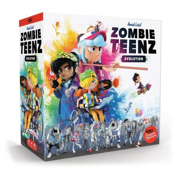 Zombie Teenz Evolution board game cover