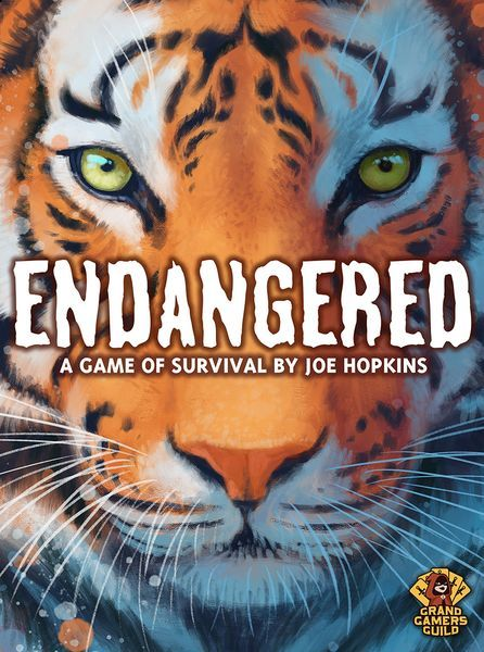 Endangered board game cover