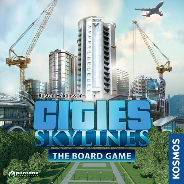 Cities Skylines Board Game cover