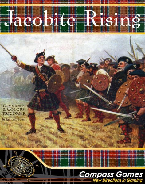 Commands & Colors Tricorne Jacobite Rising board game cover