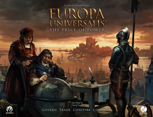 Europa Universalis board game