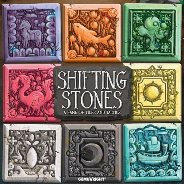 Shifting Stones board game cover