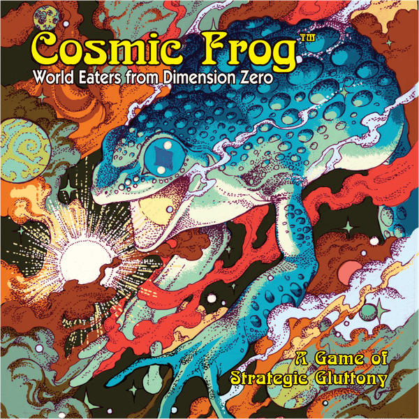 Cosmic Frog board game